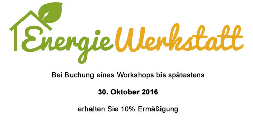 Workshop Energiewerkstatt Grainau